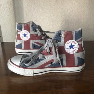 Converse All Stars High Top Sneakers Union Jack UK